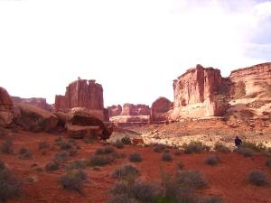 Arches Natl Park Copyright 2014 Pamela Koefoed