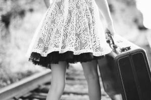 public-domain-images-free-stock-photos-black-white-vintage-suitcase-girl-railroadtracks-walking-1