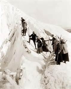 climbing paradise glacier