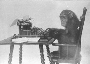 monkey_typing_public_domain